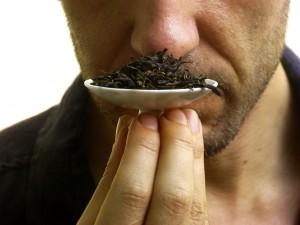 Smelling Tea