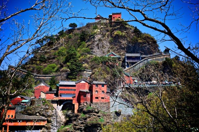 Wudang Mountains Temple