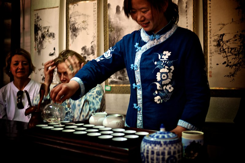 Wudang Mountains Tea Girl